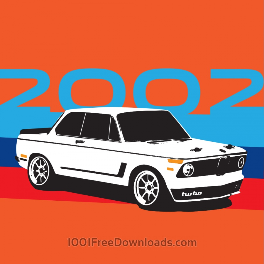Free Vectors: BMW 2002 | Transport