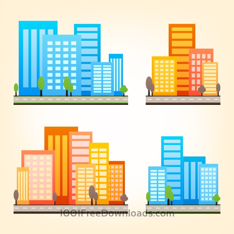 Free City Vector Set