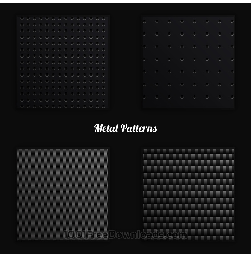 Free Metal Vector Patterns
