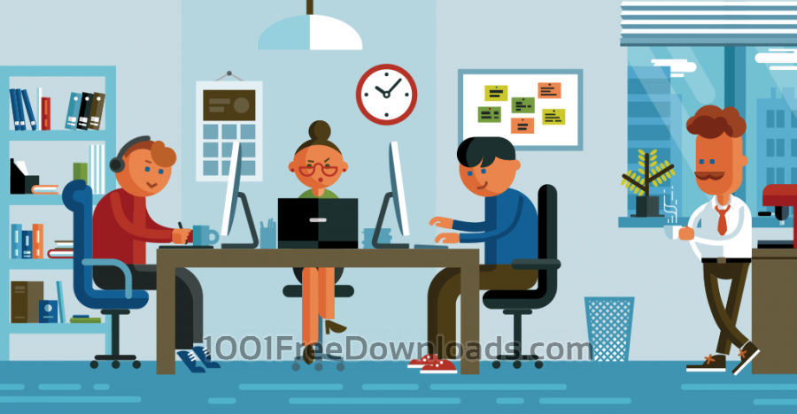 Free Office illustration