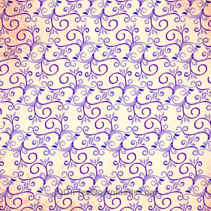 Free Watercolor vector pattern