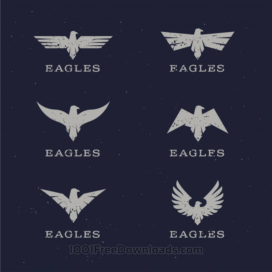 Free Stylish Eagle Icons