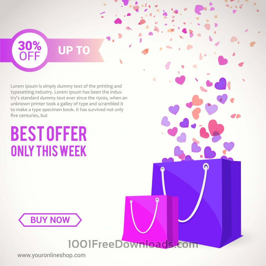 Free Vectors: Shopping Bags | Abstract