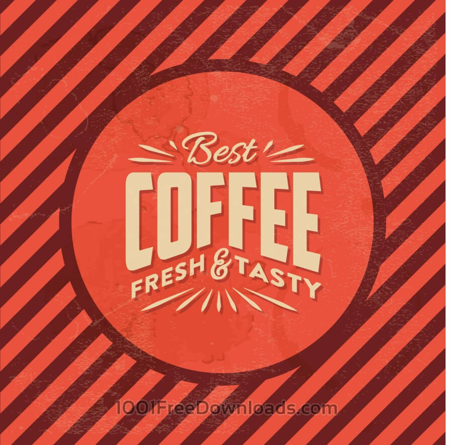 Free Vintage Coffee Background