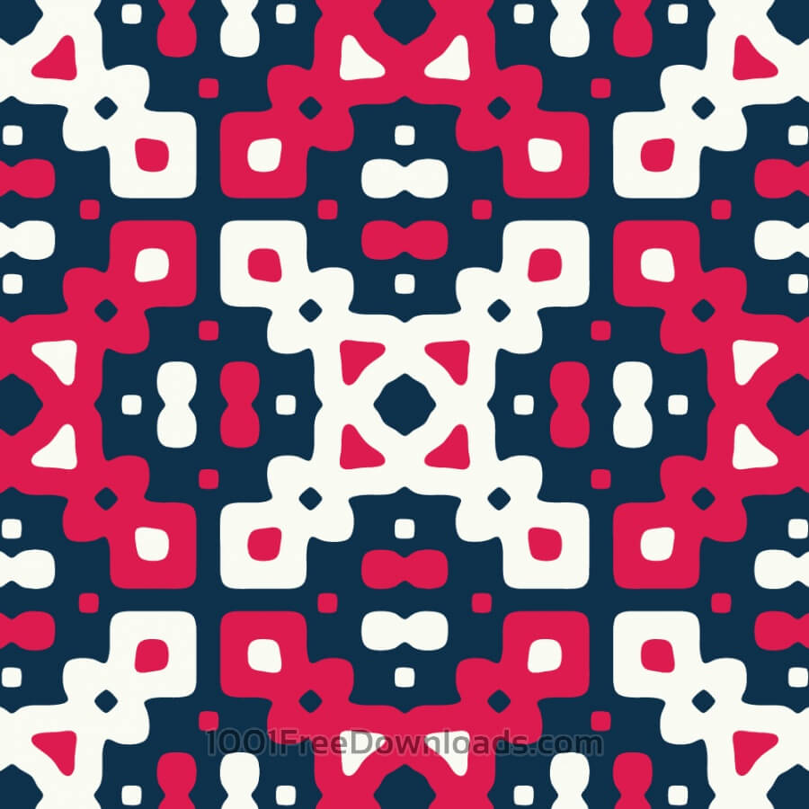 Free Red, White, and Blue Quilt Pattern