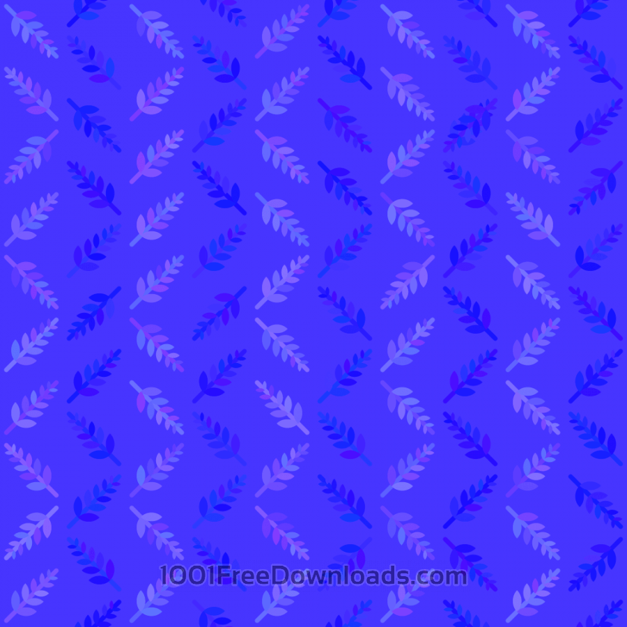 Blue Nature Pattern