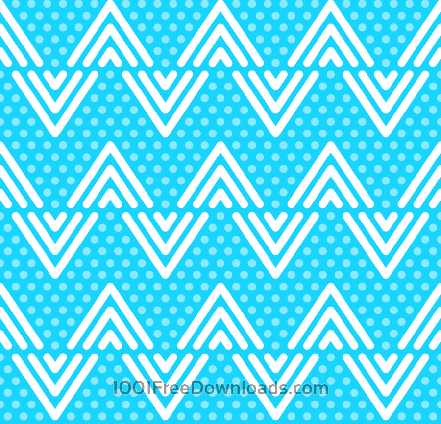 Free Blue Dots and Lines Pattern