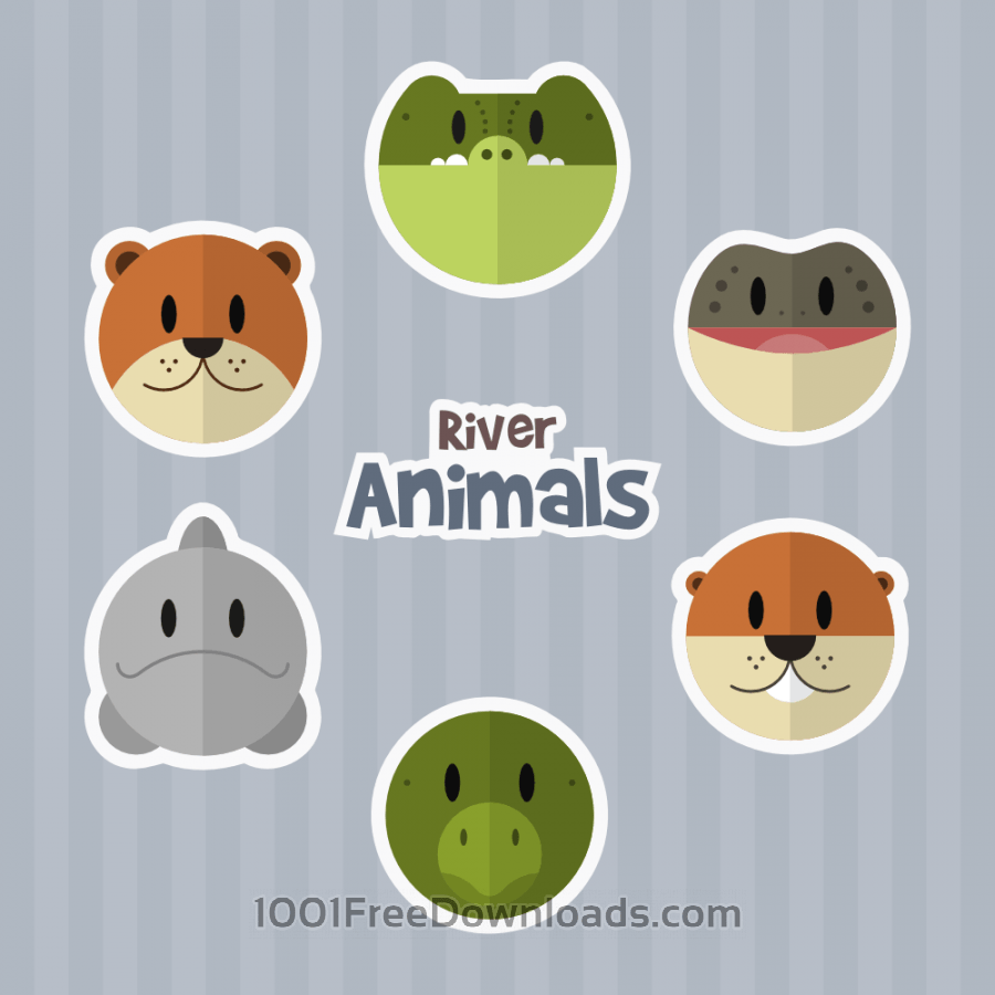 Free River Animals