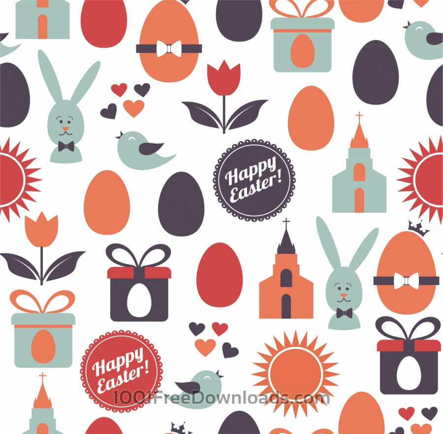 Free Vectors: Easter illustration | Abstract