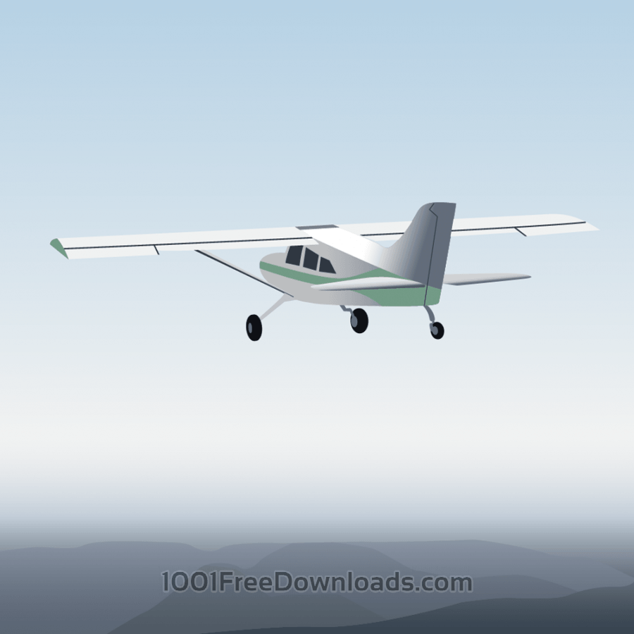 Free Vector illustration Aircraft