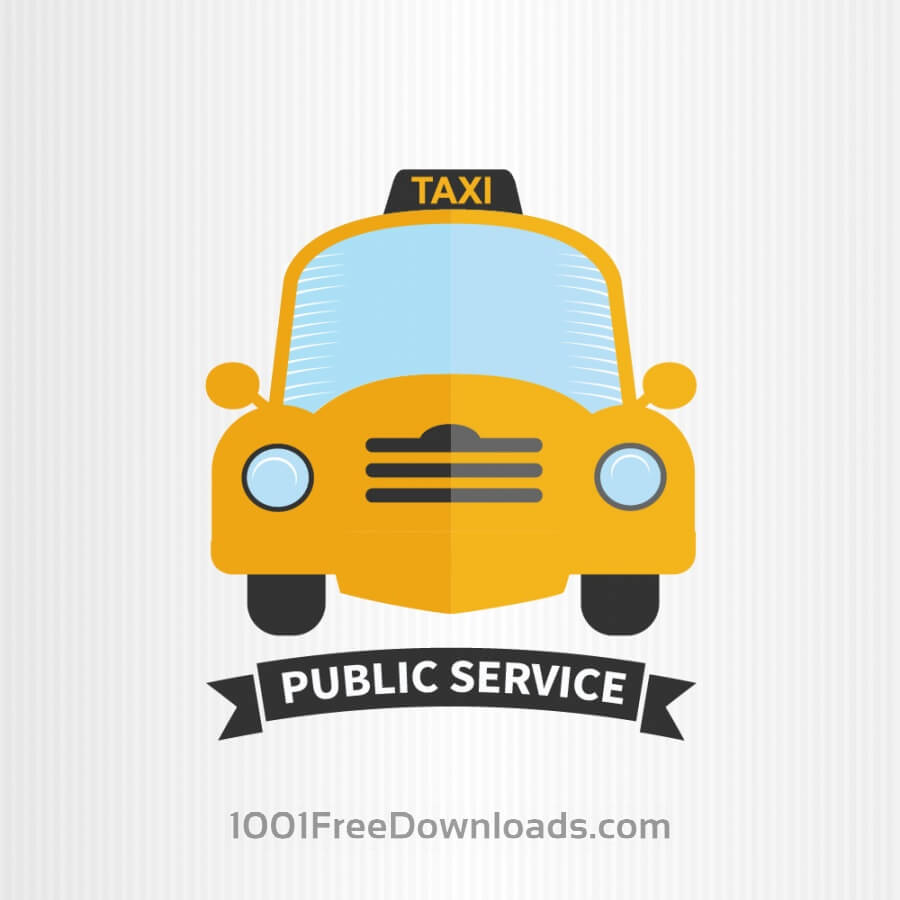 Free Vectors: Taxi  | Abstract