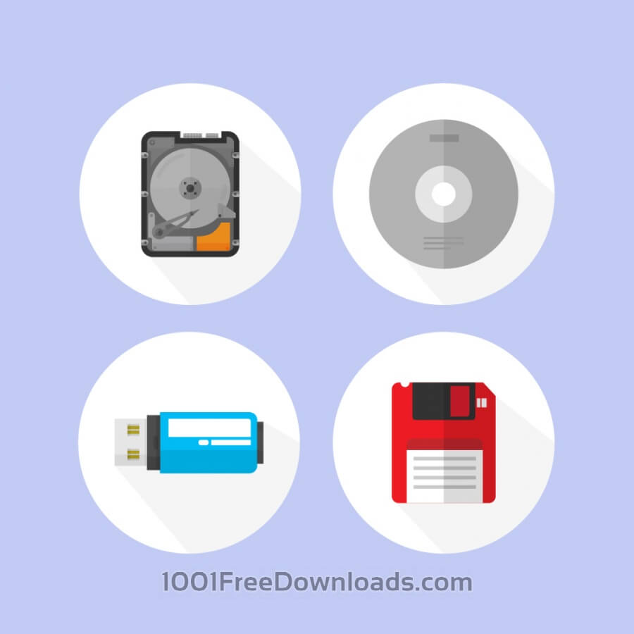 Free Digital storage devices icons