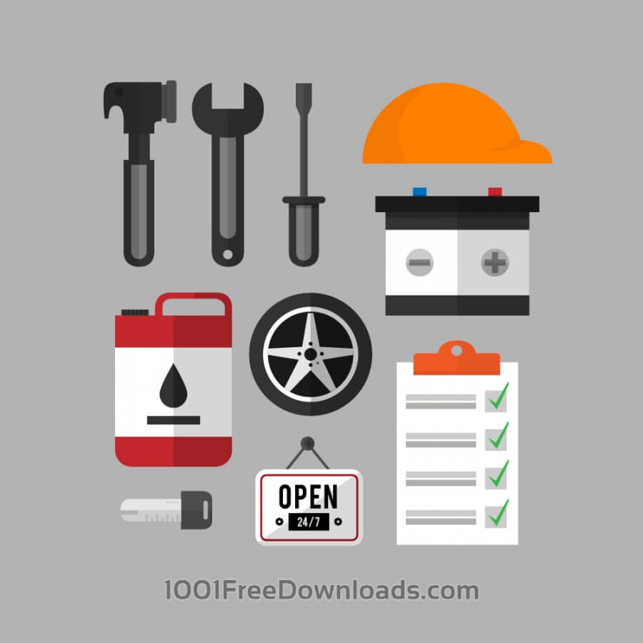 Free Mechanic and car repair kit