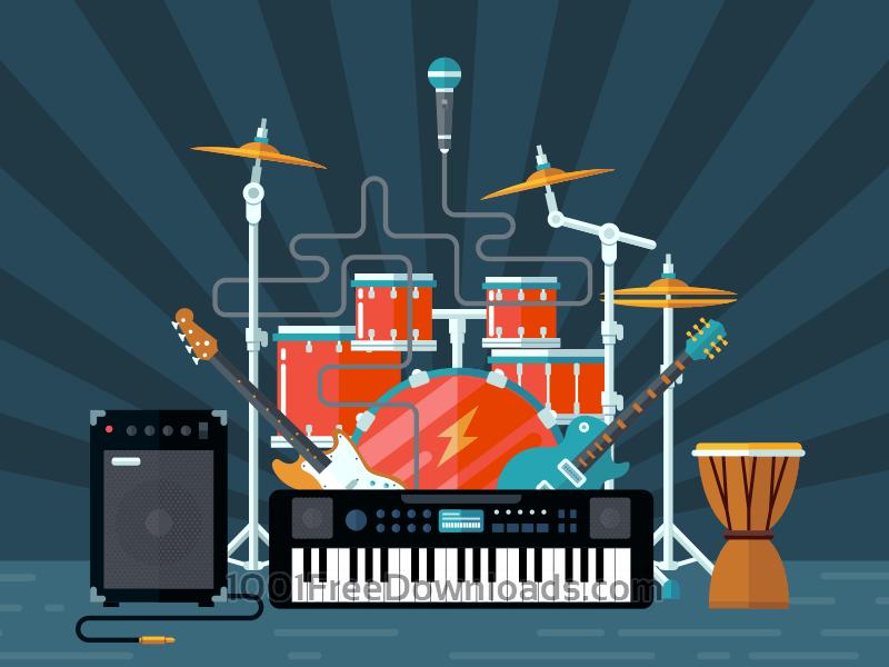 Free Vectors: Concert illustration | Art