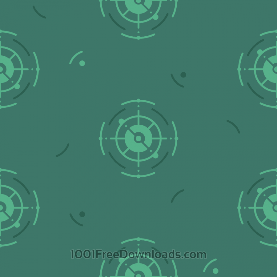 Free Green Nautical Pattern