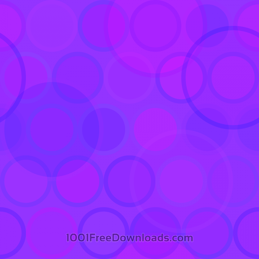 Free Purple Circles Pattern