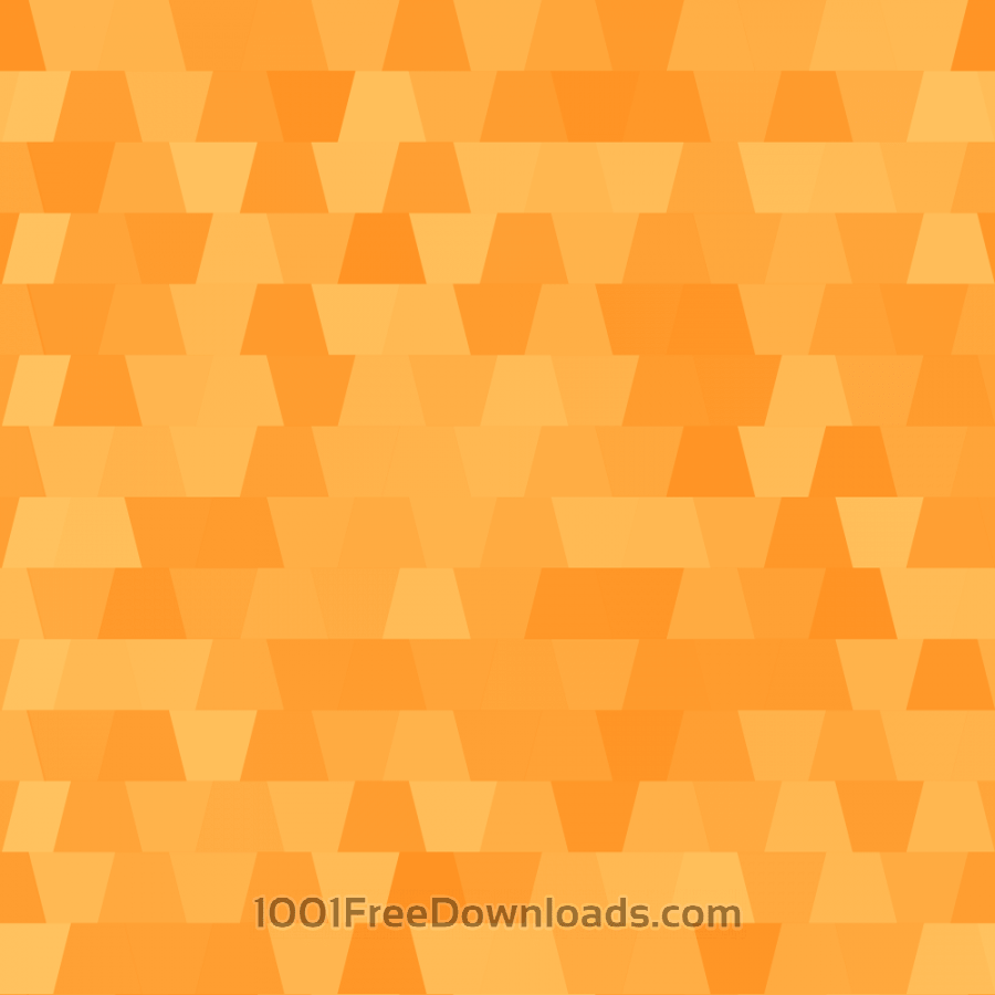 Free Abstract Orange Pattern