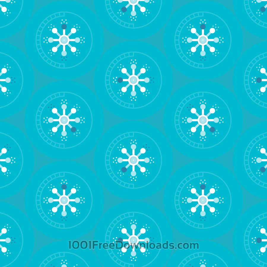 Free Abstract Circles Pattern