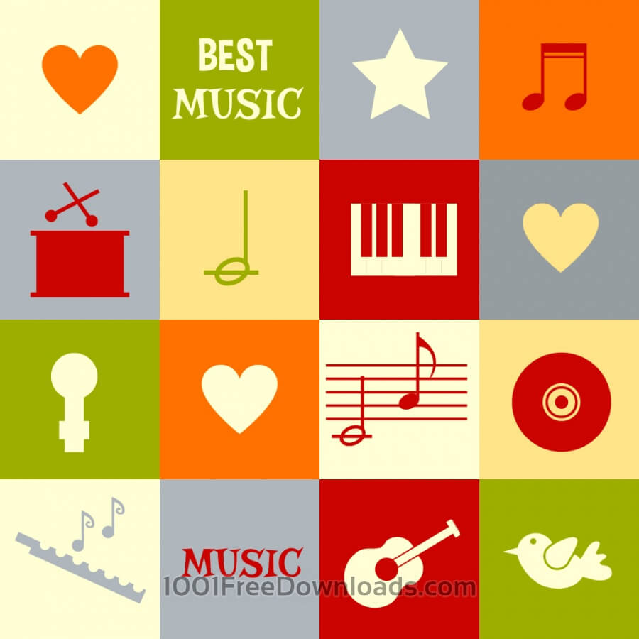 Free Vectors: Music illustration  | Abstract