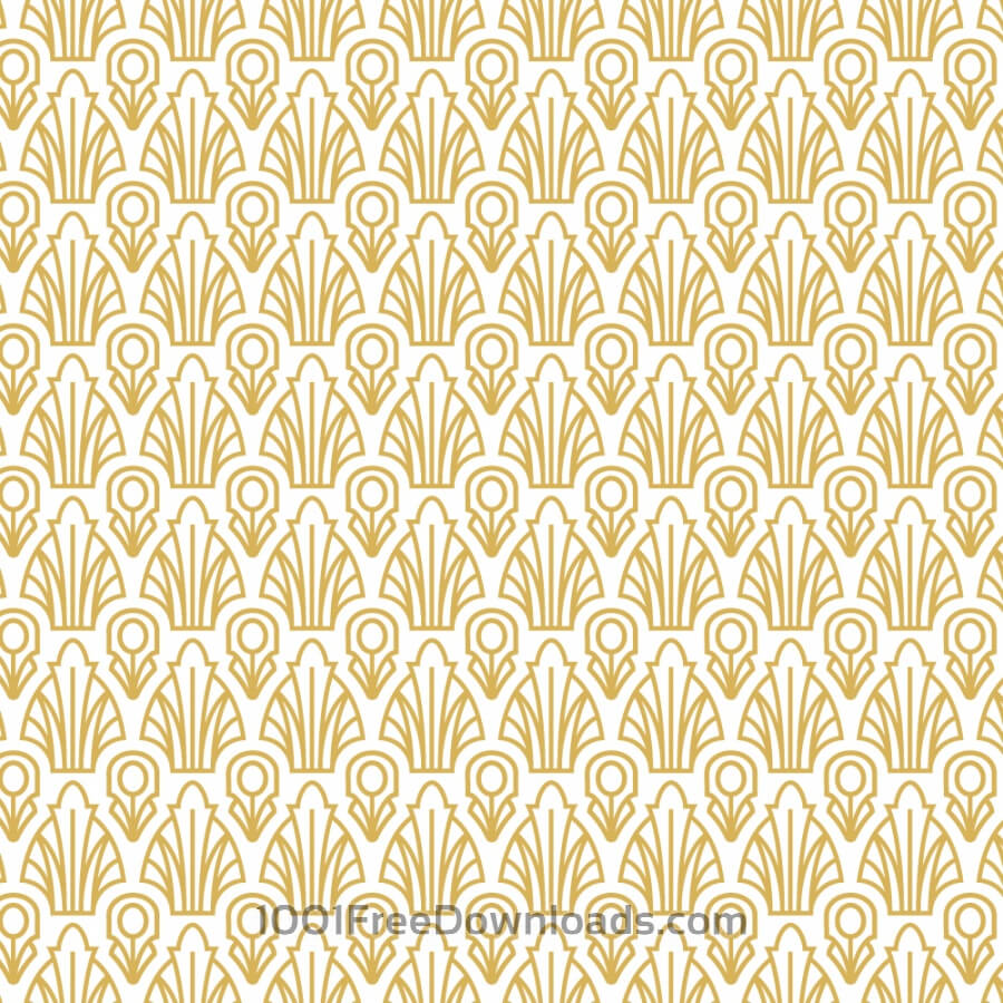 Free Vectors Roaring 1920s Fan Style Pattern Abstract