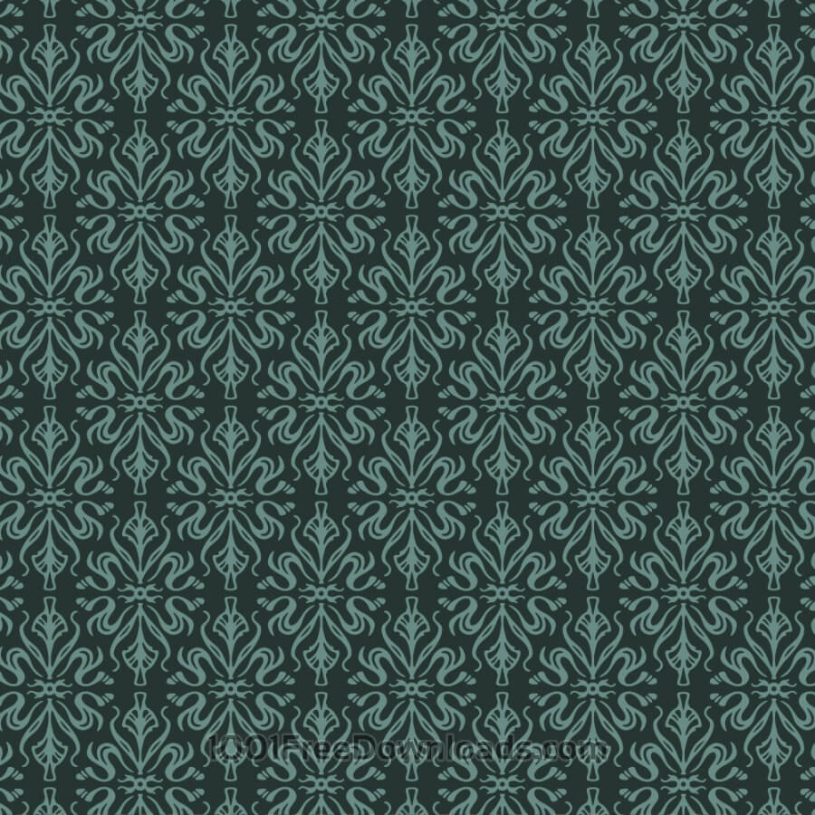 Free Ornate wallpaper style pattern