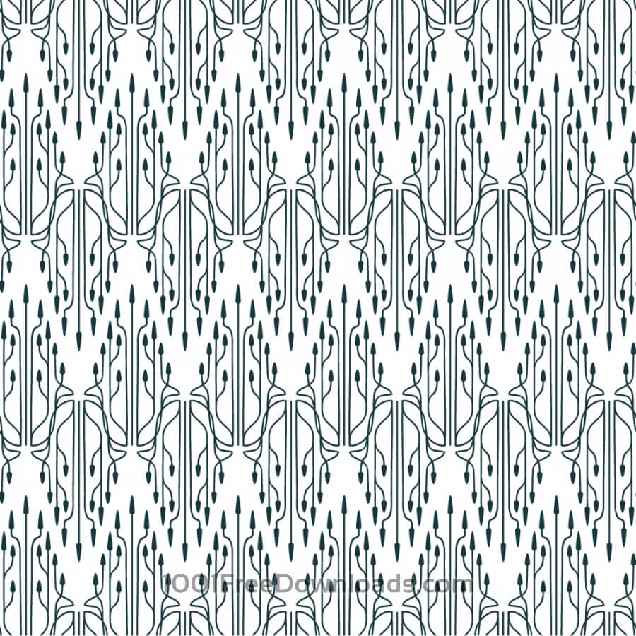 Free Vectors: Roaring 1920s thin line style pattern  | Abstract