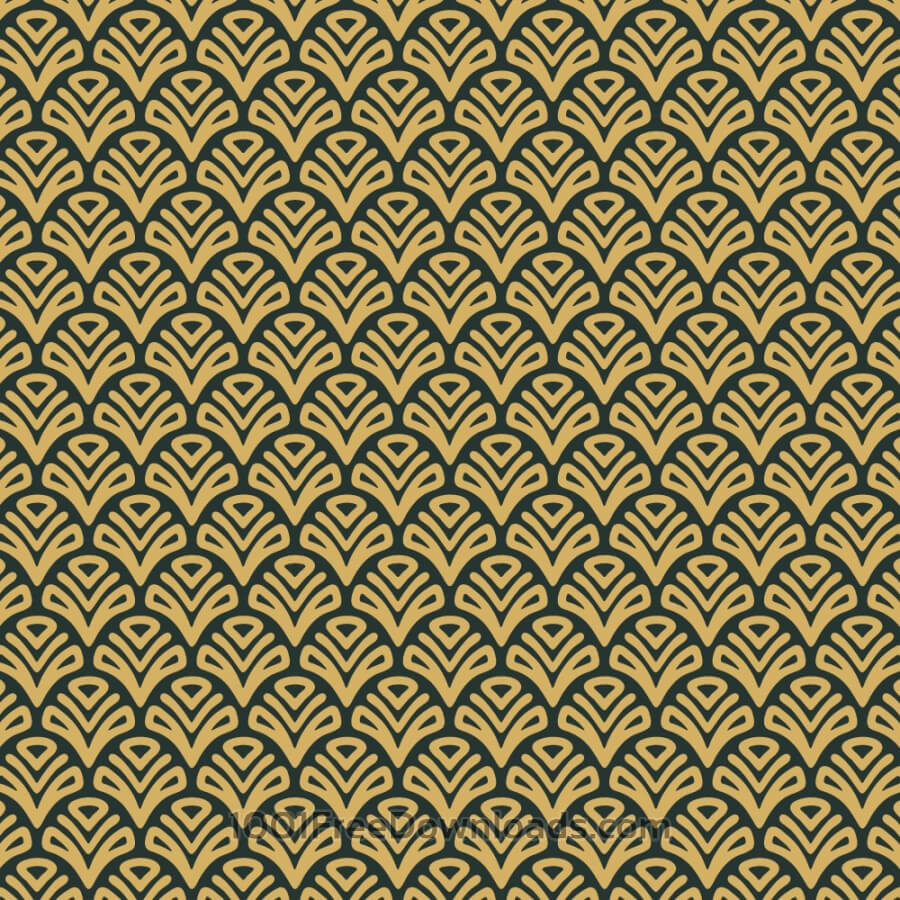 Free Vectors: Roaring 1920s Fan style Pattern  | Abstract
