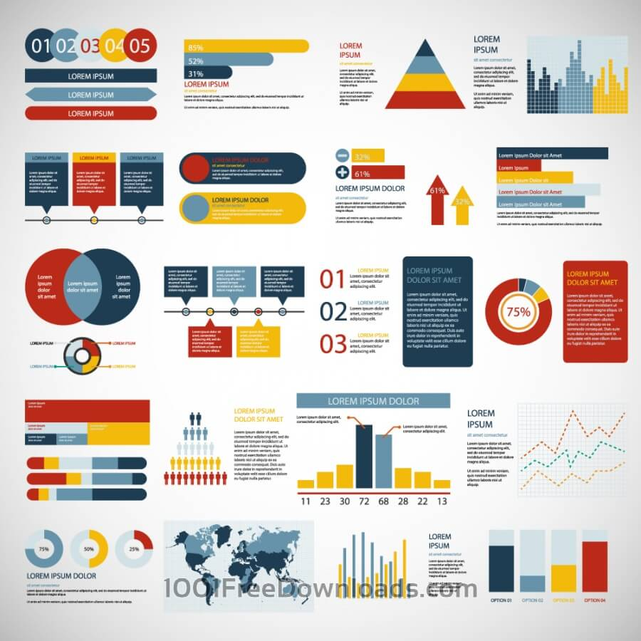 Free Infographics elements