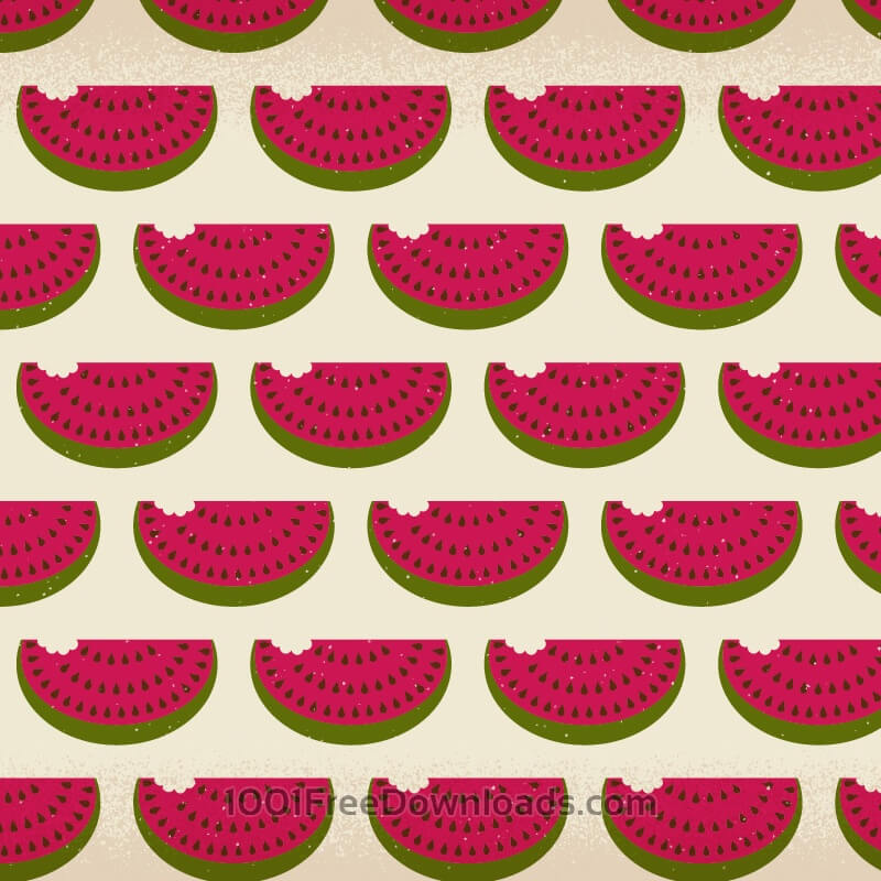 Free Watermelon pattern with subtle texture