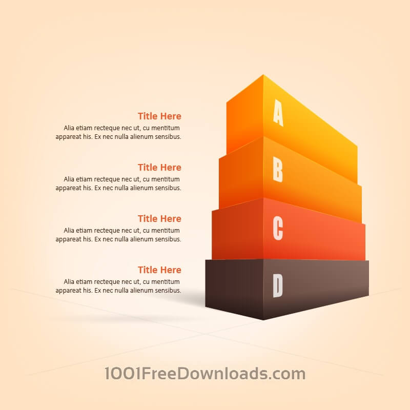 Free Vectors: 3D Infographic | Abstract