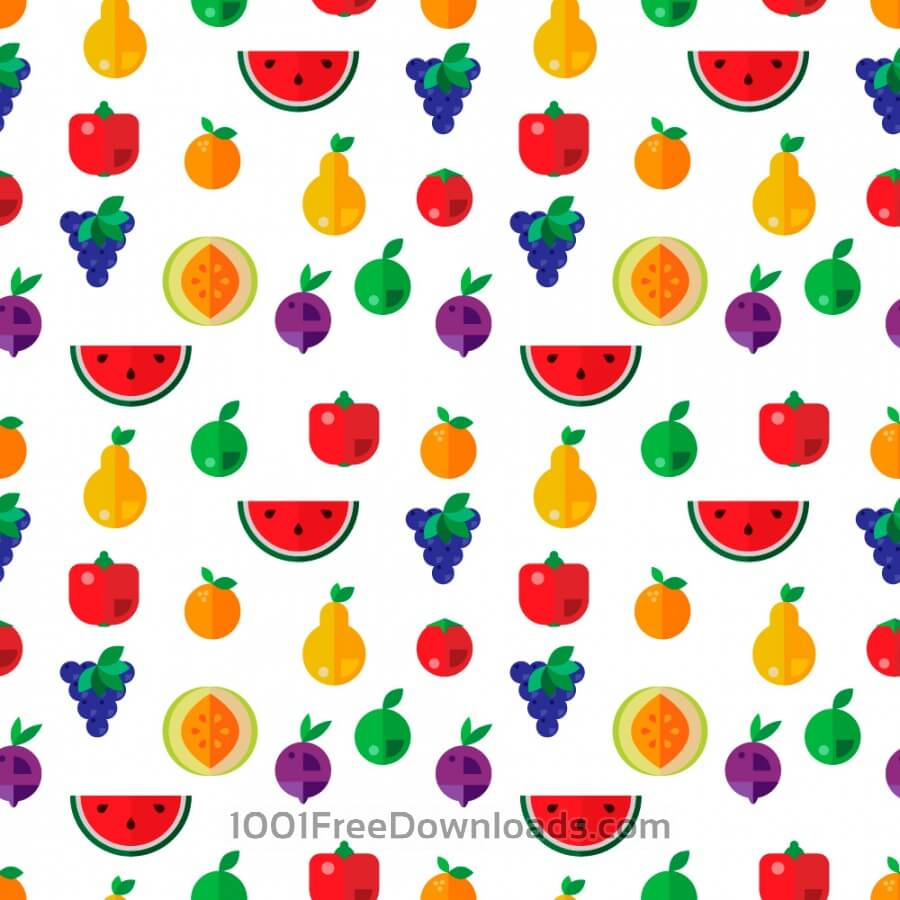 Free Vectors: Food seamless pattern | Patterns