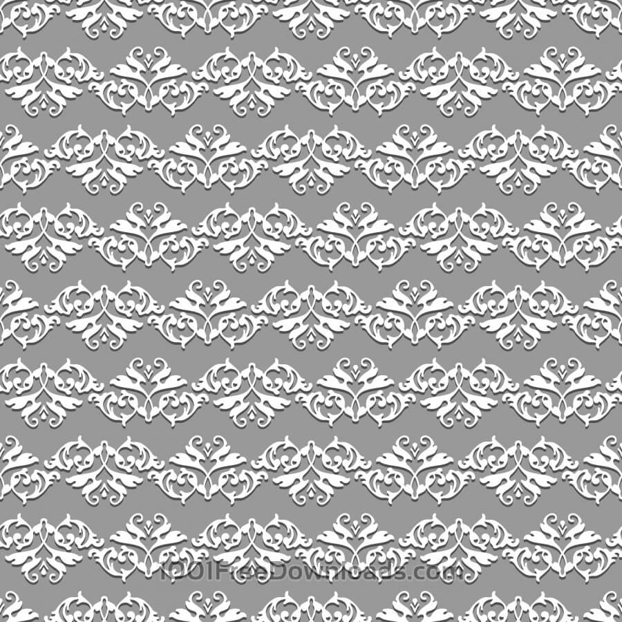 Free Damask seamless floral pattern