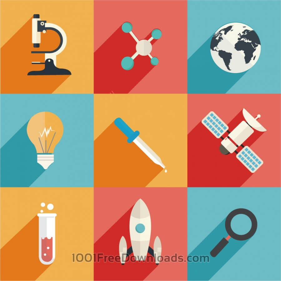 Free Science and Technology Icons