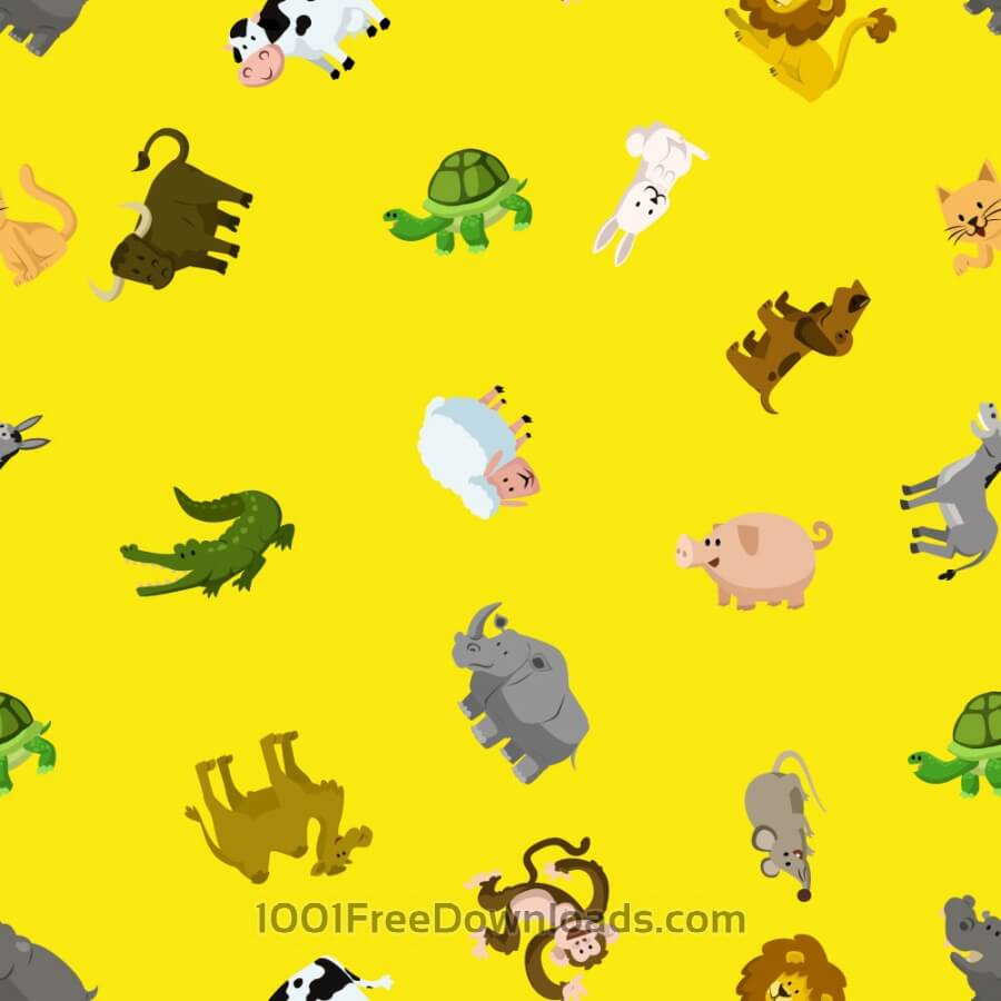 Free Pattern with animals