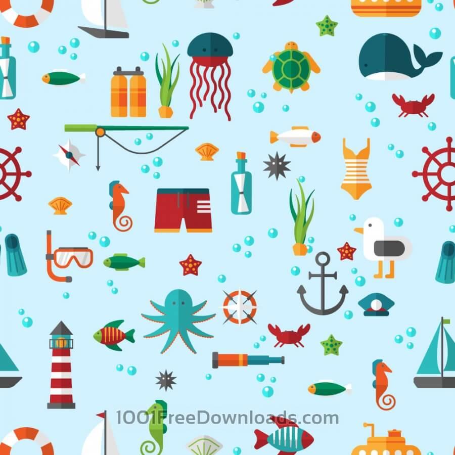 Free Sea creatures