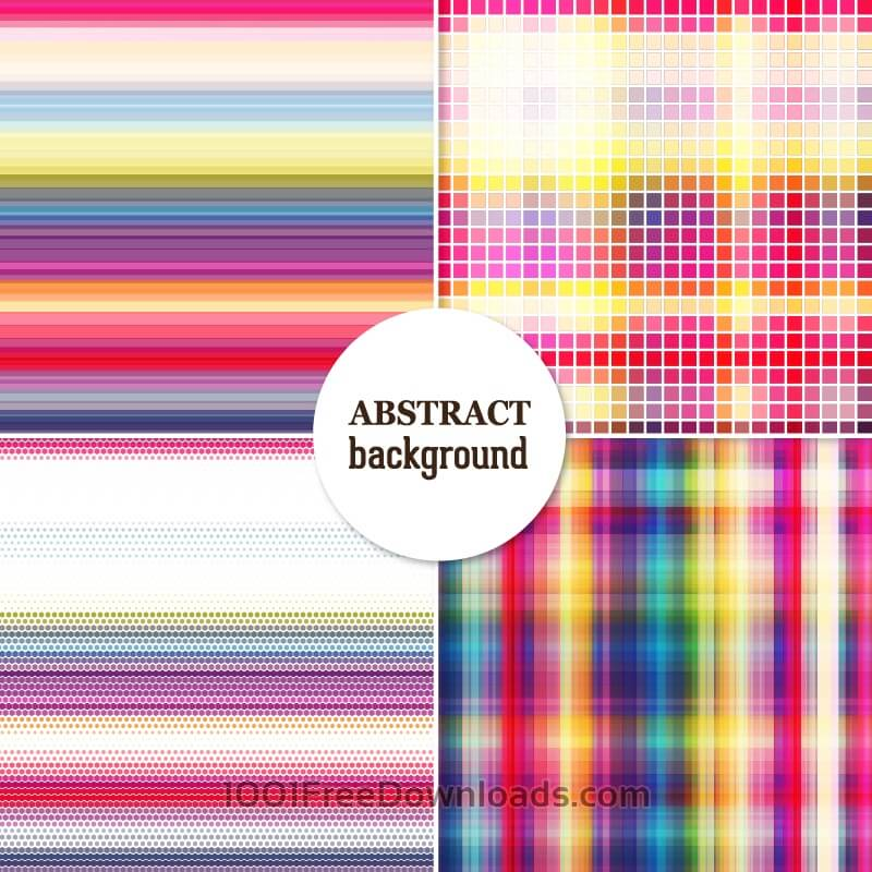 Free Set of abstract backgrounds