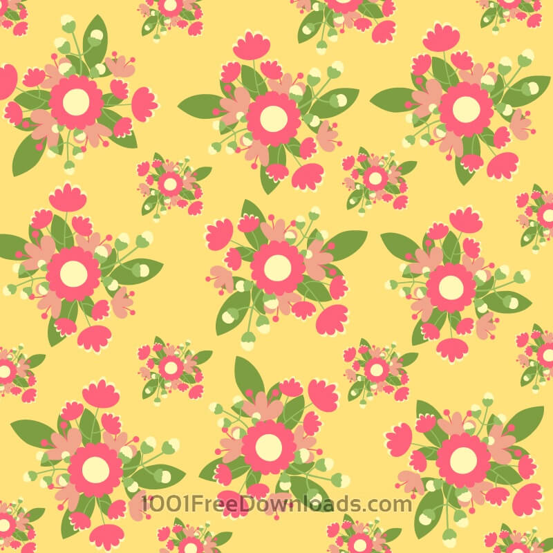 Hand draw seamless pattern