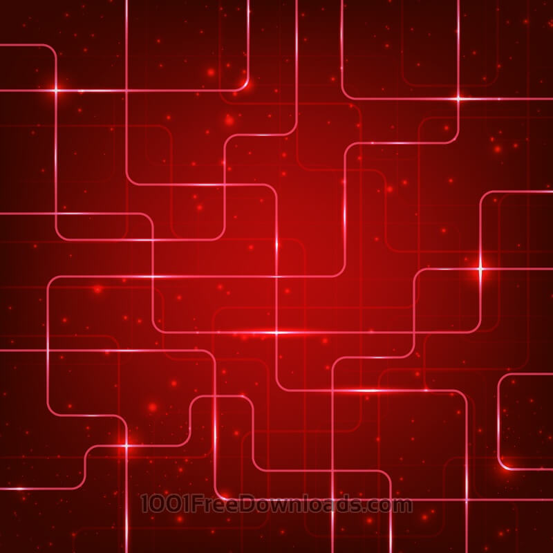 Free Abstract hi-tech red background