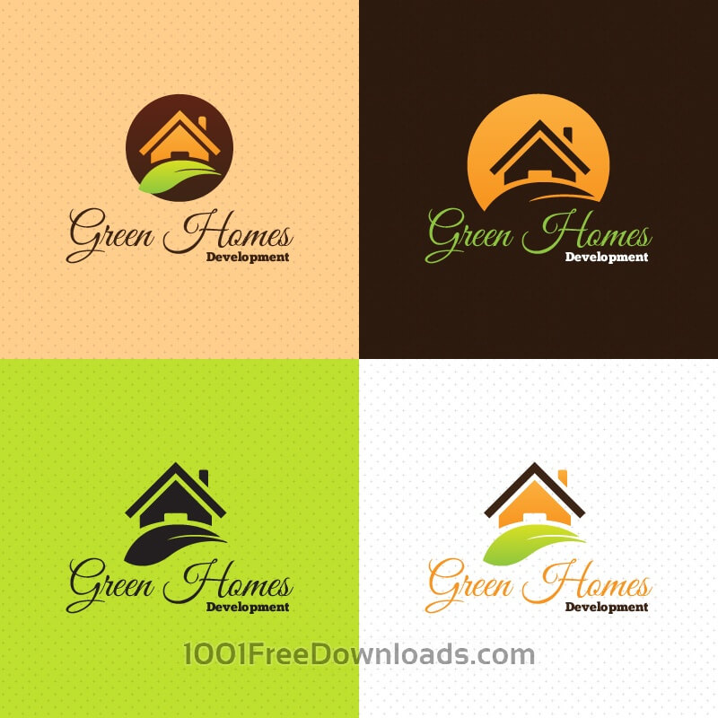 Free Green Home Logo