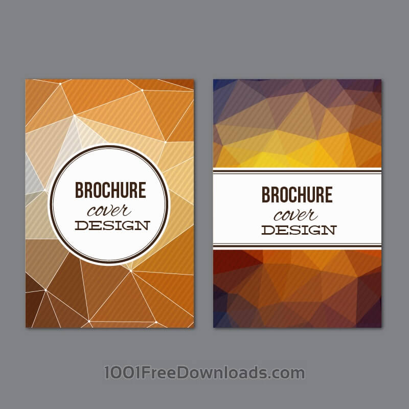 Free Vectors: Set of modern cover brochures | Abstract
