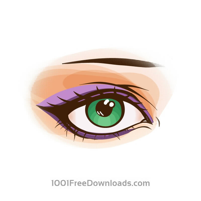 Free Vectors: Vector eye | Objects