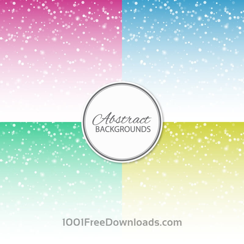 Free Vectors: Set of abstract backgrounds | Abstract