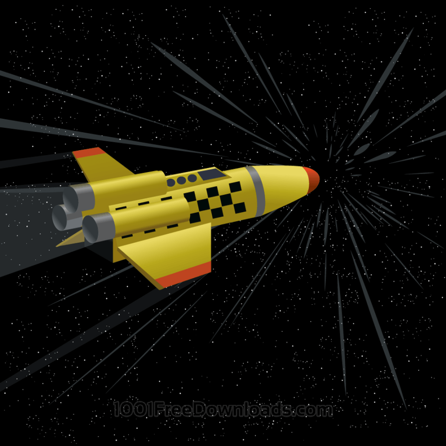 Free space shuttle