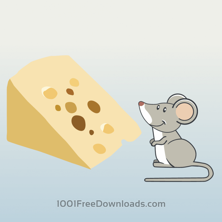 Free mouse and cheese