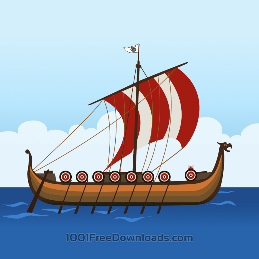 Free viking ship