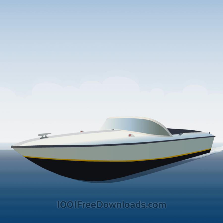 Free speedboat