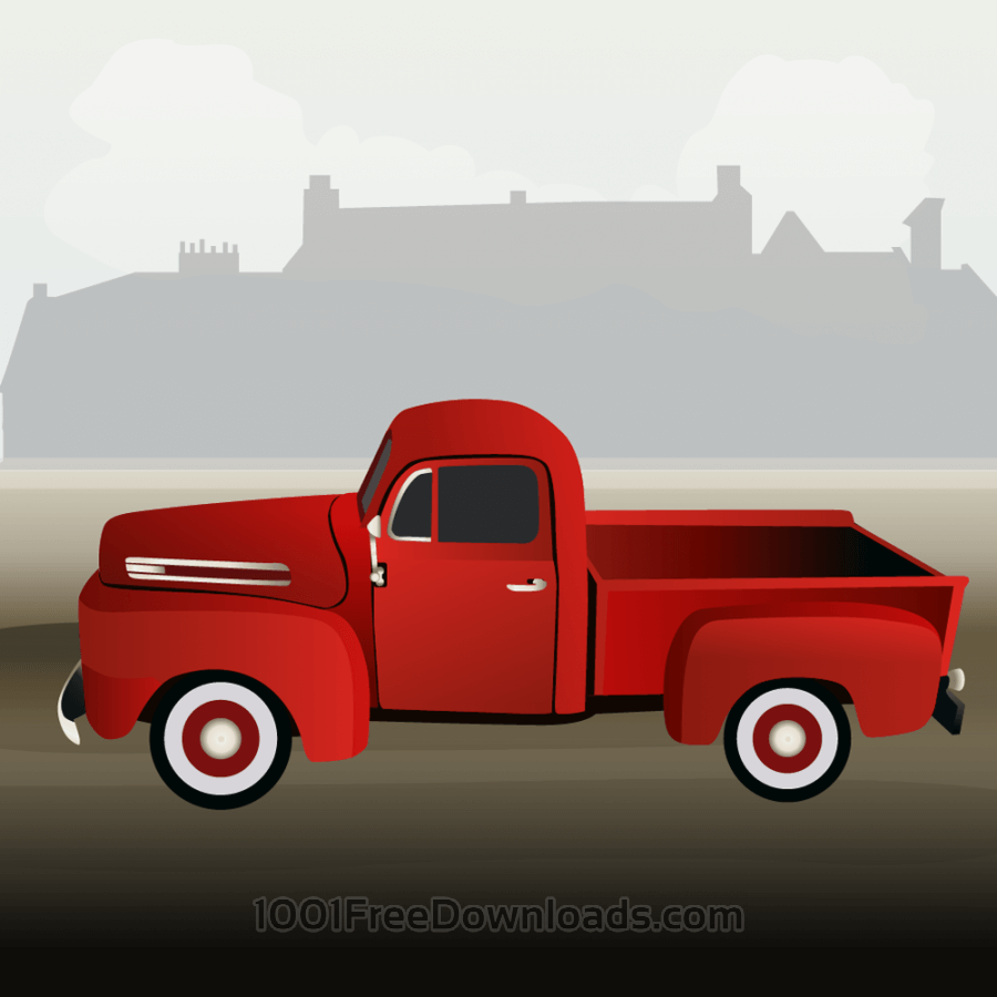 Free Vectors: Small truck | Cities