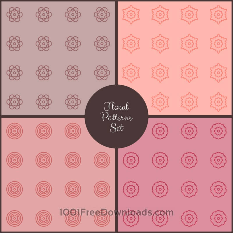 Free Vectors: Floral Vector Pattern | Abstract