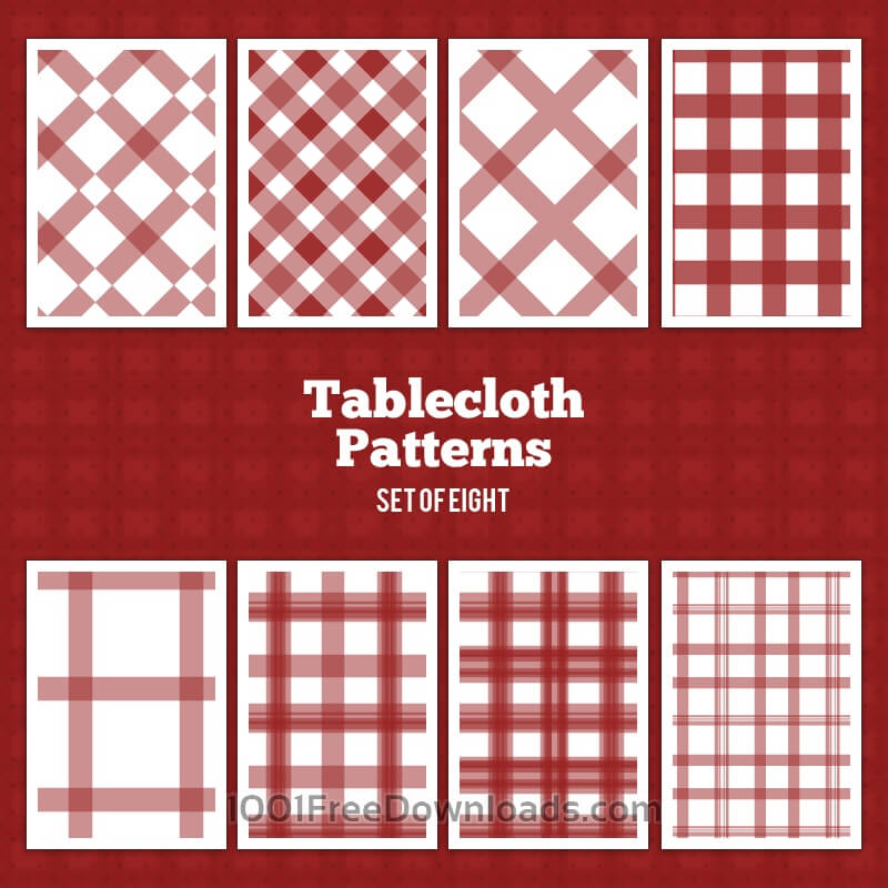 Free Vectors: Tablecloth Vector Patterns | Abstract