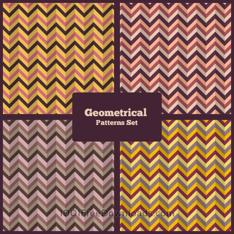 Free Geometrical Patterns Set